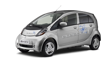 i-MiEV electriQ en COOL SILVER couleur