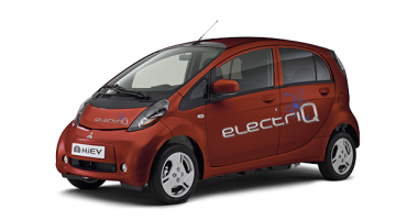i-MiEV electriQ en CHERRY BROWN couleur