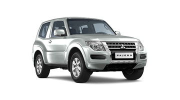 Pajero en WHITE SOLID couleur
