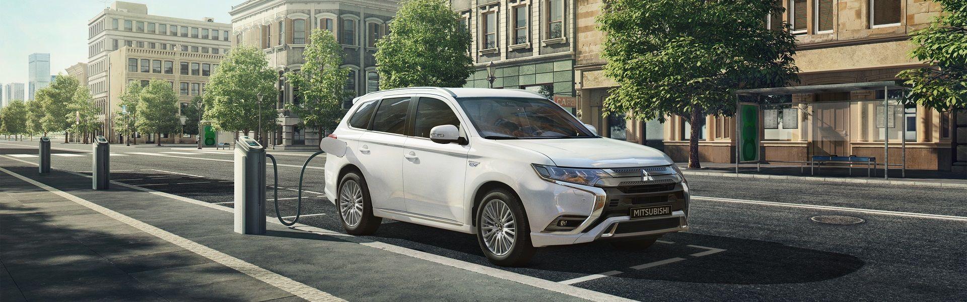 Mitsubishi Outlander PHEV RESPECTUEUX DE L'ENVIRONNEMENT