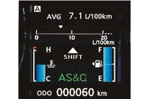 Mitsubishi ASX SYSTÈME AUTO STOP & GO (AS&G)