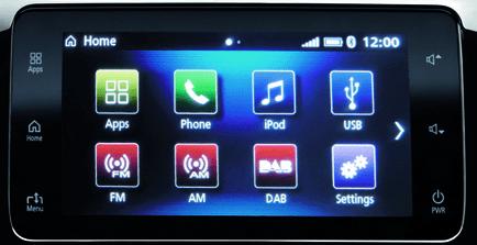 Mitsubishi Eclipse Cross SYSTÈME MULTIMÉDIA CONNECTÉ SMARTPHONE-LINK DISPLAY AUDIO (SDA)