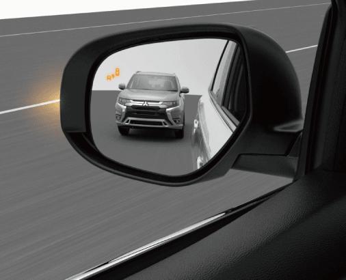 Mitsubishi Outlander SYSTÈME DE DÉTECTION D'ANGLES MORTS (BSW)