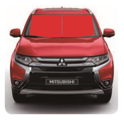 Mitsubishi Outlander PARE-BRISE CHAUFFANT