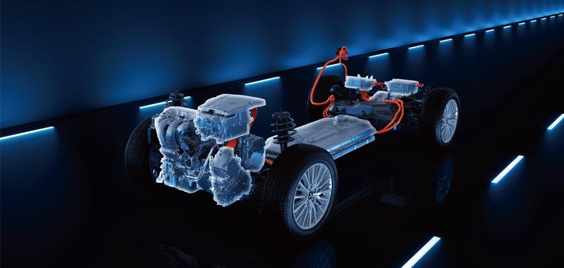 Mitsubishi Outlander PHEV MOTEUR ELECTRIQUE ET MOTEUR 2.4L MIVEC