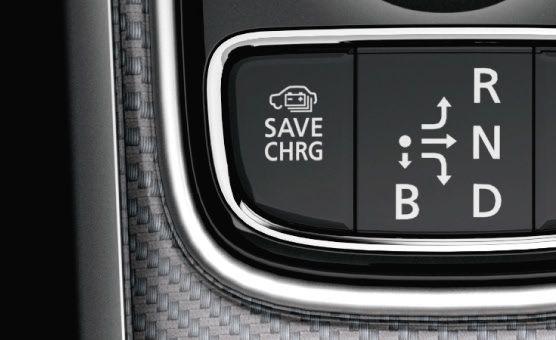 Mitsubishi Outlander PHEV MODES CHARGE ET SAVE