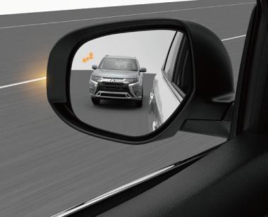 Mitsubishi Outlander PHEV SYSTÉME DE SURVEILLANCE D'ANGLE MORT (BSW)