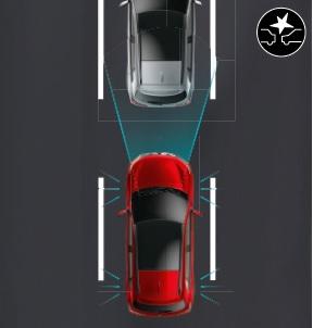 Mitsubishi ASX SYSTEME DE REDUCTION DE VITESSE AVANT COLLISION AVEC FONCTION DE DETECTION DES PIETONS (FCM)