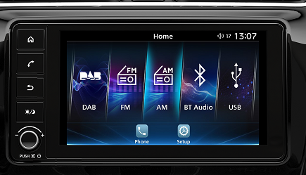 Mitsubishi Space Star SYSTEME SMARTPHONE-LINK DISPLAY AUDIO 3.0