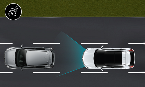 Mitsubishi Eclipse Cross PHEV REGULATEUR DE VITESSE ADAPTATIF