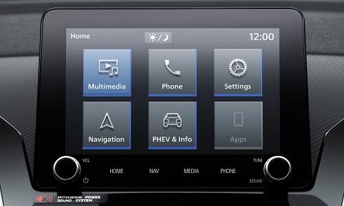 Mitsubishi Eclipse Cross PHEV SMARTPHONE-LINK DISPLAY AUDIO (SDA)