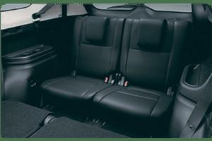 Mitsubishi Outlander TROISIEME RANGEE DE SIEGES
