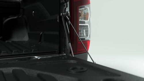Assistance ouverture de ridelle (disponible pour les versions Double Cab et Club Cab)
