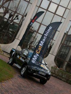 Bergerat Monnoyeur et Caterpillar en partenariat avec Mitsubishi Motors