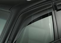 Déflecteurs de vitres latérales châssis long / court