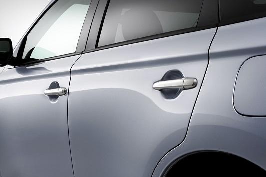 Garniture de poignée porte couleur chrome (pour les véhicules équipés du système sans clé (KOS) - jeu de 4 pièces)
