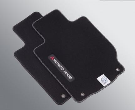 Jeu de tapis de sol textile (jeu avant et arrière - 4 pièces)