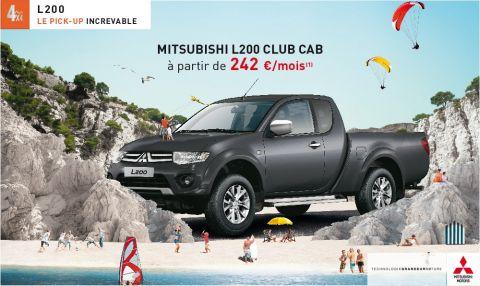 L200 Club Cab à partir de 242 € par mois