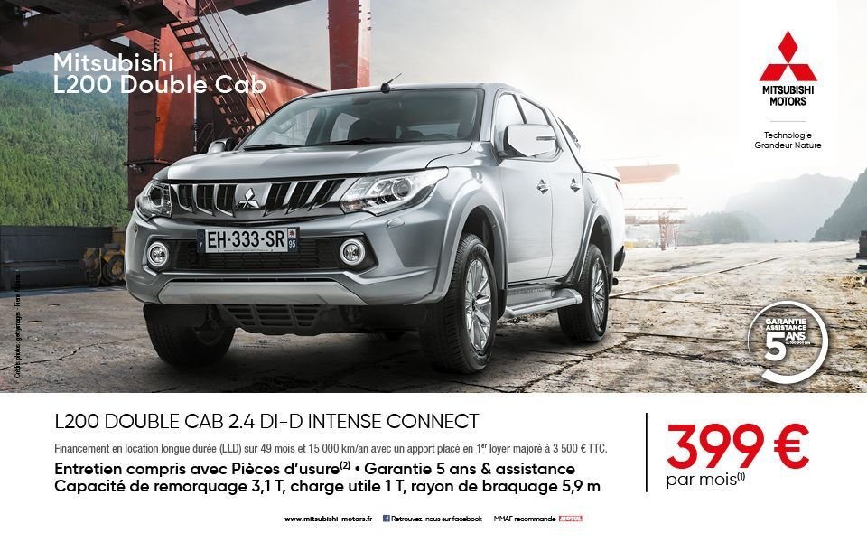 L200 DOUBLE CAB 2.4 DI-D INTENSE CONNECT