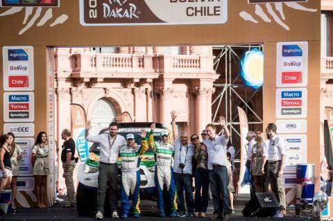 Le Dakar 2015 a debuté ...