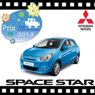 LE PRIX ENVIRONNEMENT MAAF POUR LA MITSUBISHI SPACE STAR