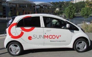 Lyon: lancement du programme d'Auto Partage, en Mitsubishi I-MiEV !