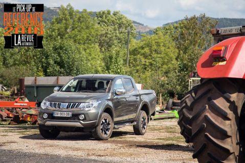 Mitsubishi L200 : le pick-up de référence 2016