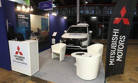Mitsubishi Motors est présent sur le salon Autonomy