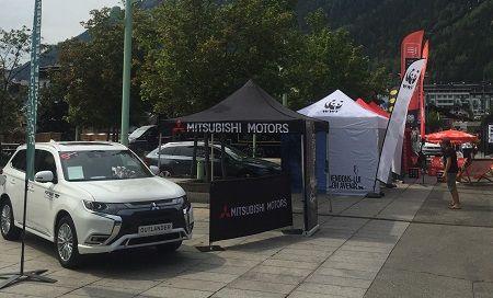 Mitsubishi Motors France Partenaire Technique de l'Ultra Trail du Mont Blanc 2019 du 27 au 30 Août 2019