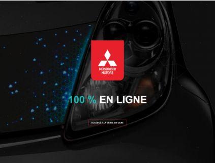 Mitsubishi Motors innove avec un véritable concept de vente en ligne inédit en France, en collaboration avec son réseau