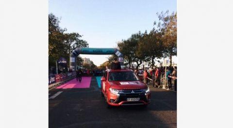 Mitsubishi Motors partenaire de L'Ekiden de Paris 2016