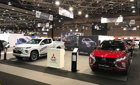 Mitsubishi Motors présent au Salon de l'Automobile 2019 de Lyon