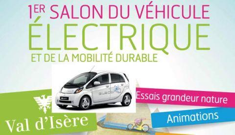 Mitsubishi Motors présent au Salon du véhicule électrique à Val d'Isère du  16 au 19 juillet 2015