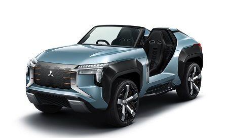 Mitsubishi Motors présente en première mondiale au salon de Tokyo 2019; le MI-TECH CONCEPT, concept car de petit SUV électrifié type buggy, et la Kei car SUPER HEIGHT K-WAGON CONCEPT