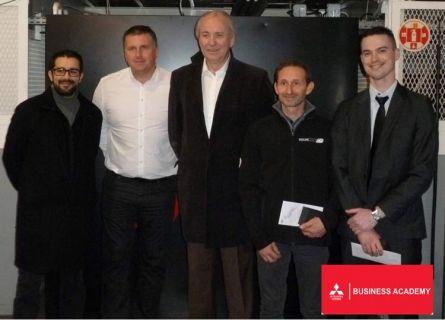 Mitsubishi récompense ses meilleurs vendeurs Business Academy