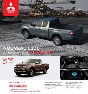 NOUVEAU L200 GAMME À PARTIR DE 17 900 € HT(1)