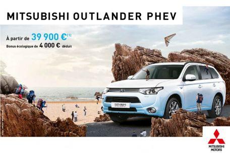 Nouveau Outlander PHEV à partir de 39 900 €