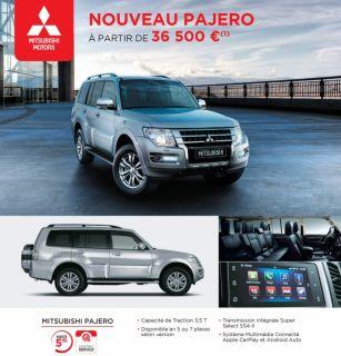 NOUVEAU PAJERO À PARTIR DE 36 500 €(1)