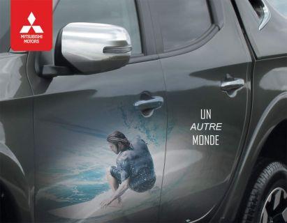 Nouveau pick-up L200 : UN AUTRE MONDE