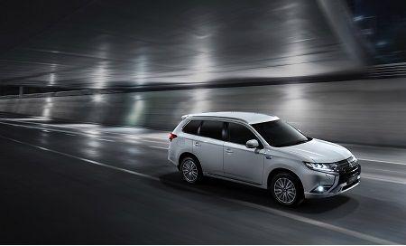 Outlander PHEV : le véhicule de Mitsubishi Motors le plus vendu en Europe*