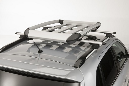 Porte-bagage, rack type aluminium (79 x 128 cm)