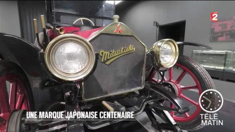 """Reportage sur les """"100 ans Mitsubishi"""" dans l'émission de Télématin sur France 2"""