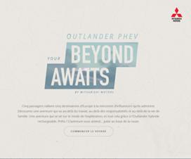 Vivez l'aventure avec l'Outlander hybride rechargeable