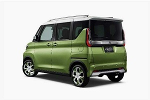 Mitsubishi Motors Super Height K-Wagon Concept, le design